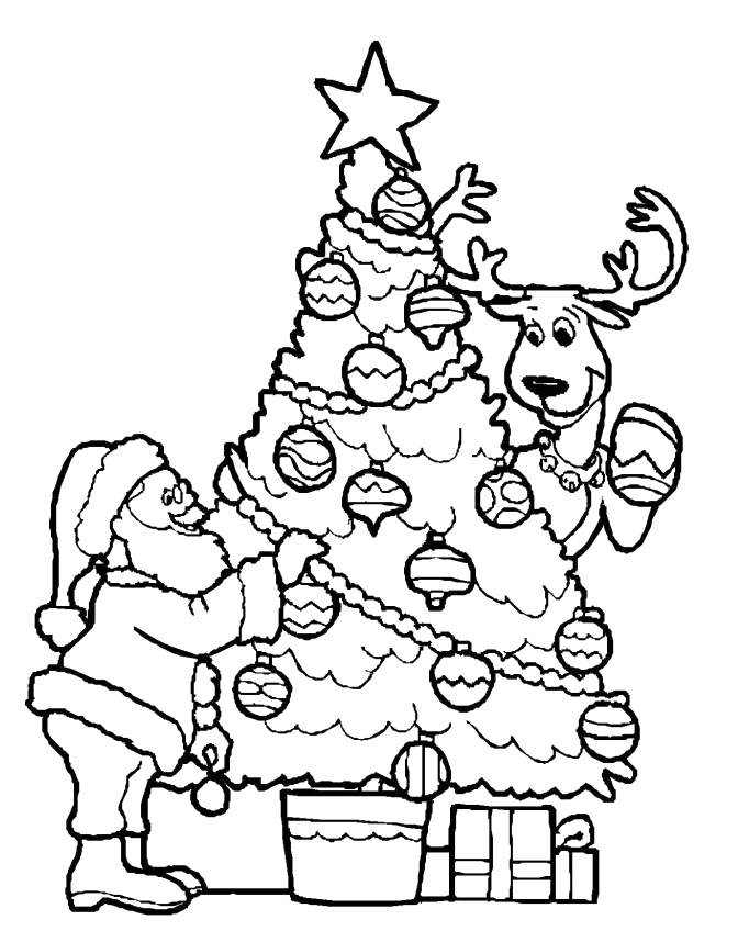 coloring xmas decorating a christmas tree coloring pages christmas xmas coloring