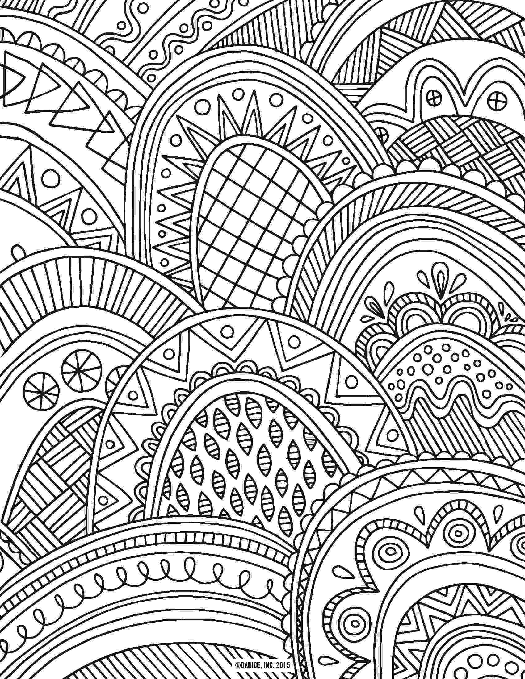colouring for adults lize beekman colorful chicken adult coloring page favecraftscom colouring adults lize for beekman