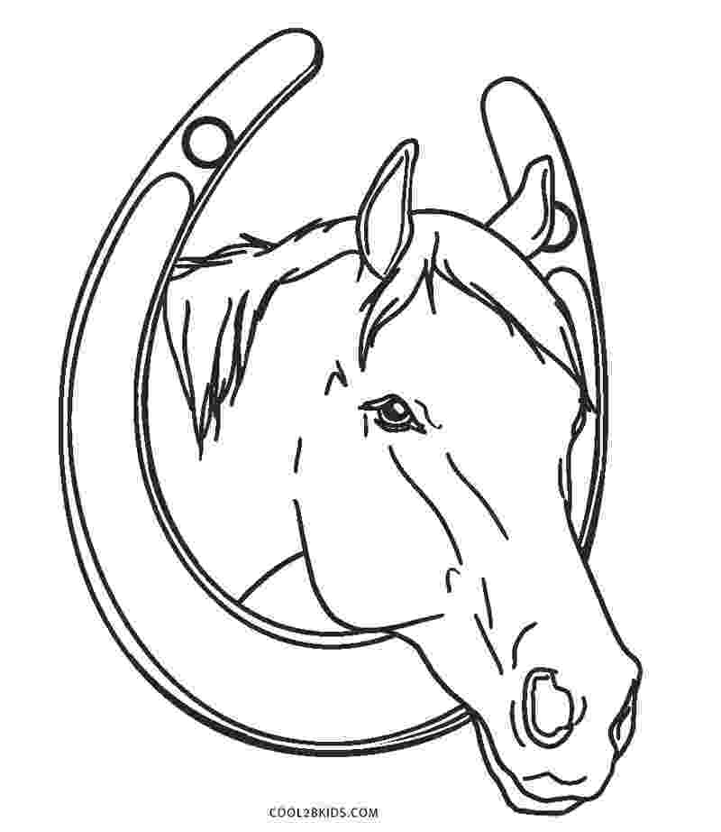 colouring horses free printable horse coloring pages for kids cool2bkids colouring horses