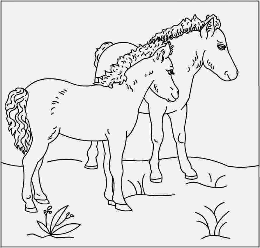 colouring horses free printable horse coloring pages for kids cool2bkids horses colouring