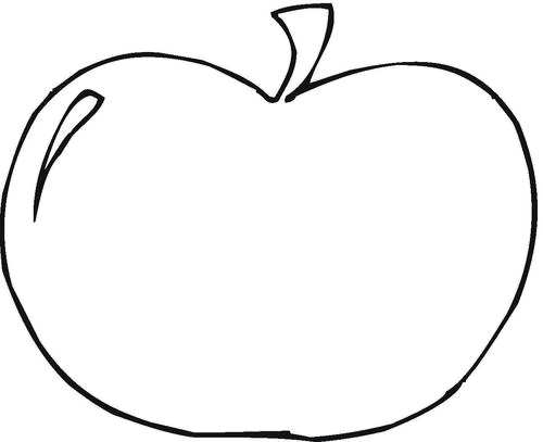 colouring images of apple apple coloring page super simple of apple colouring images