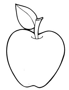 colouring images of apple apple coloring pages for kids fruits coloring pages of apple images colouring
