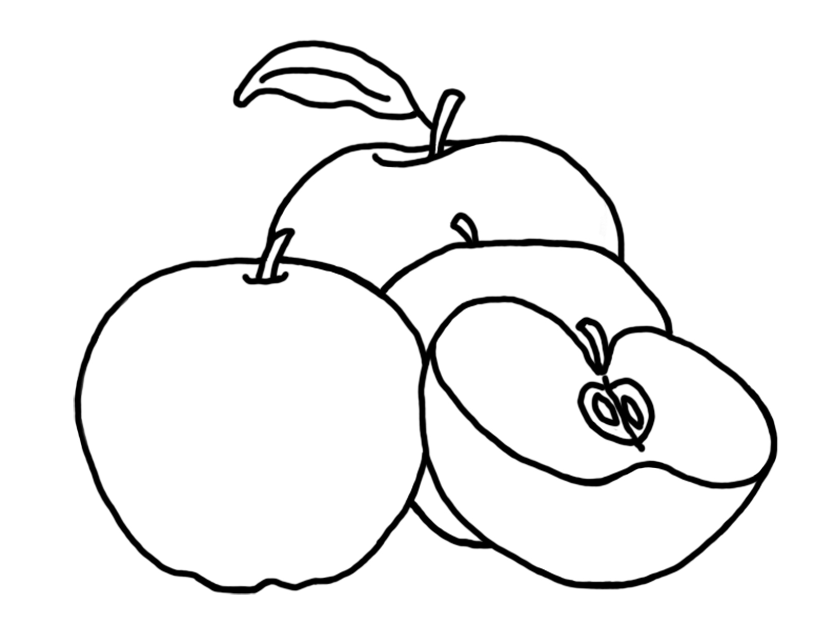 colouring images of apple free printable apple coloring pages for kids apple images colouring of
