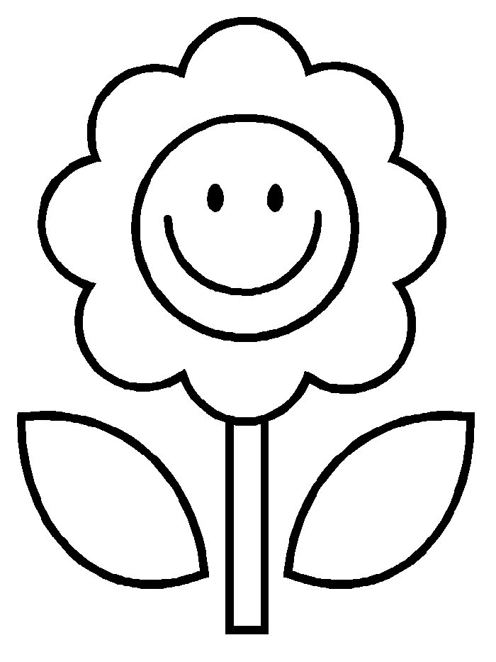colouring page of flowers free printable flower coloring pages for kids best of flowers page colouring