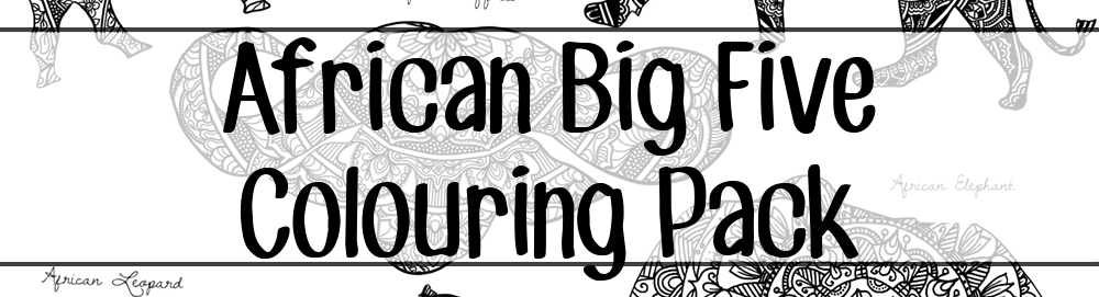 colouring pages big 5 animals big five images stock photos vectors shutterstock colouring 5 animals big pages
