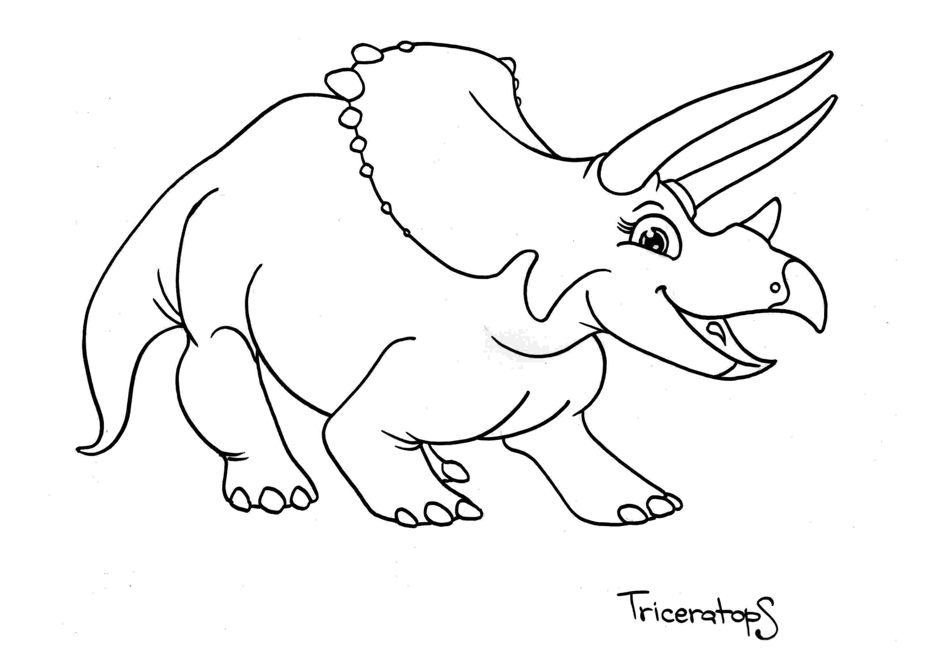 colouring pages dinosaurs printable cute cartoon dinosaur coloring page free printable printable dinosaurs pages colouring
