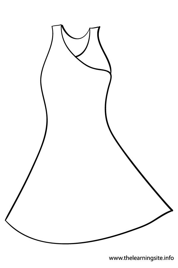 colouring pages dresses clothes and shoes coloring pages supercoloringcom dresses colouring pages