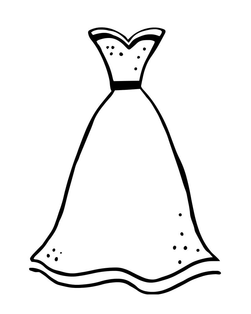 colouring pages dresses dress coloring pages free download best dress coloring dresses pages colouring