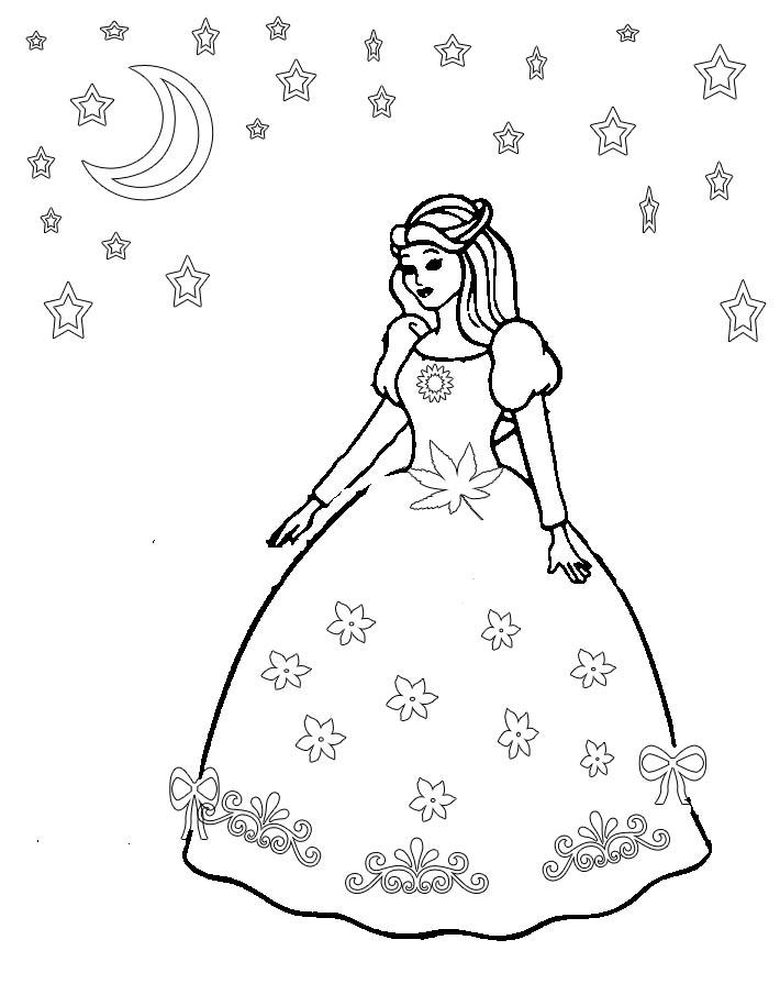 colouring pages dresses princess dress coloring pages elena reviews pages colouring dresses