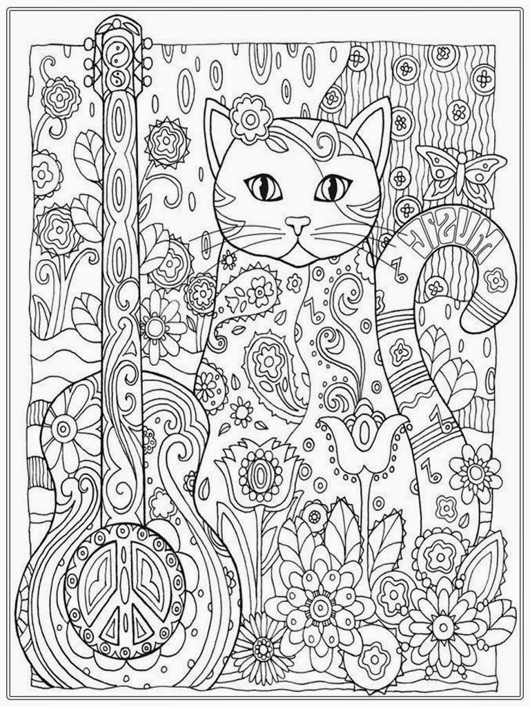 colouring pages for adults online free pretty cat coloring pages for adult printable printable pages free adults for online colouring