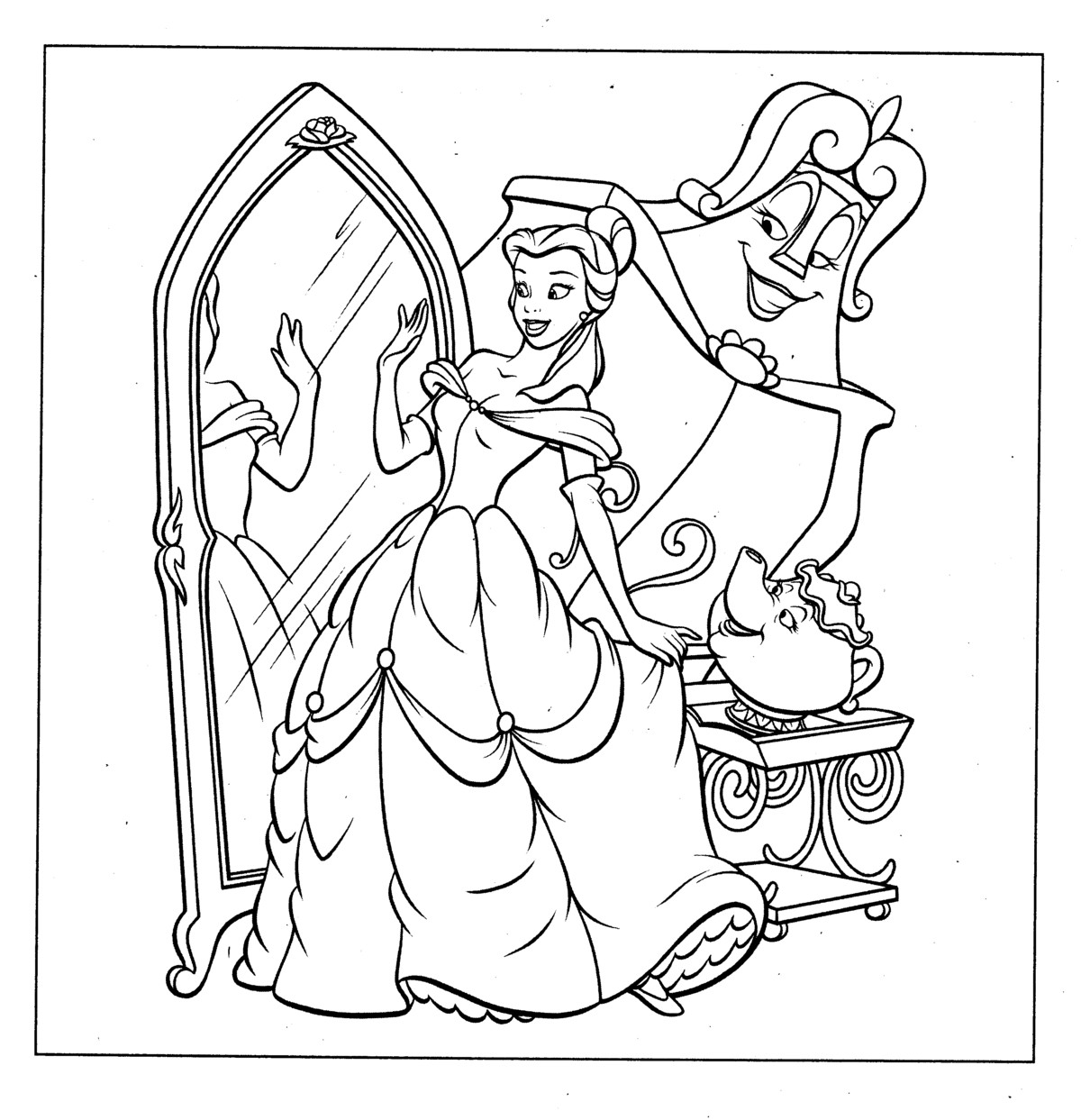 colouring pages for disney princesses disney princess coloring pages team colors princesses for disney pages colouring