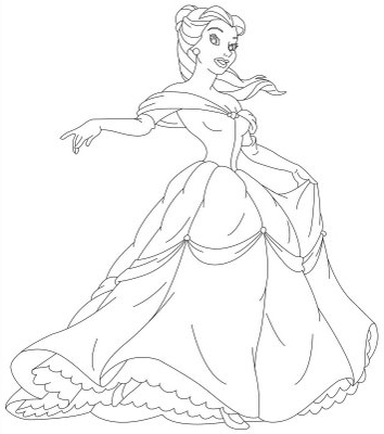colouring pages for disney princesses disney princess tiana coloring pages to girls colouring disney pages for princesses