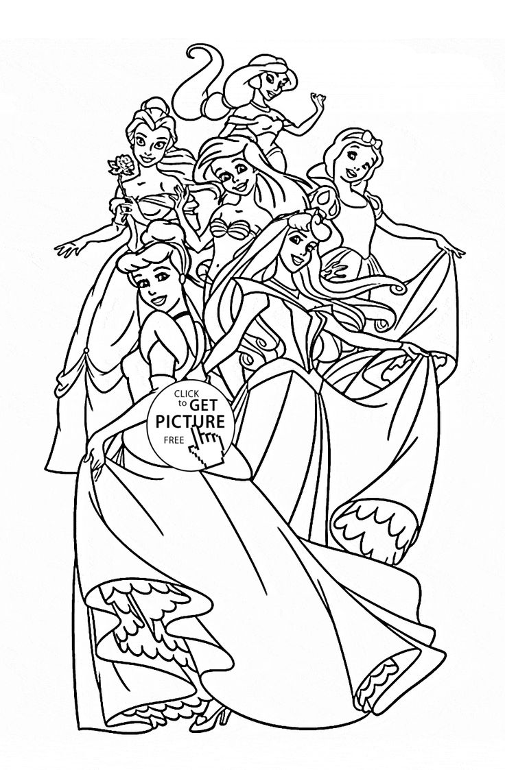 colouring pages for disney princesses free printable disney princess coloring pages for kids for disney pages colouring princesses