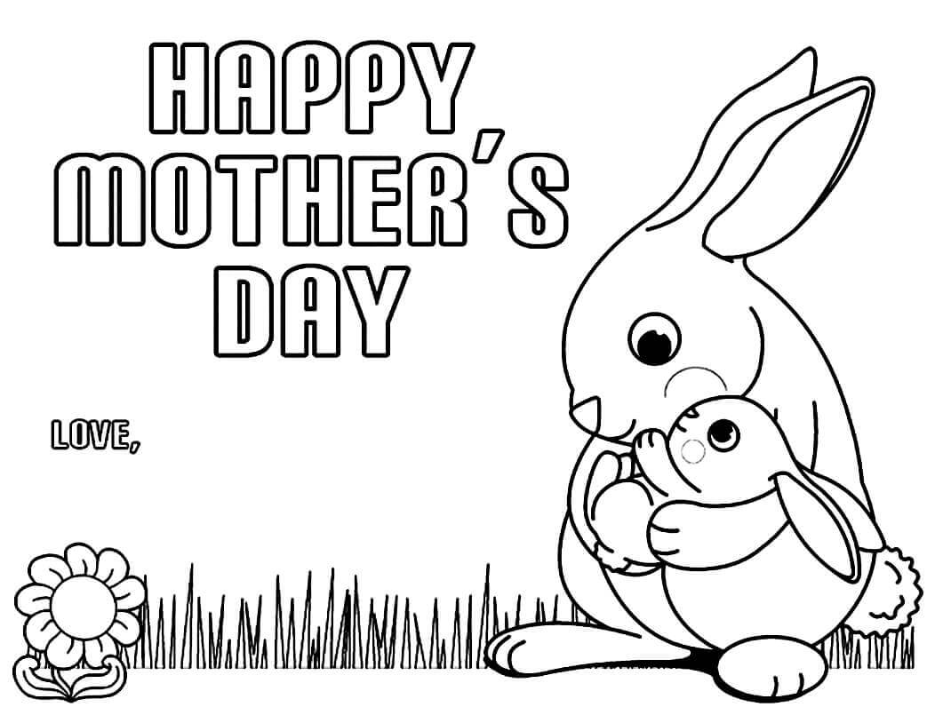 colouring pages for mothers day happy mother39s day free coloring page printable for kids mothers for colouring pages day