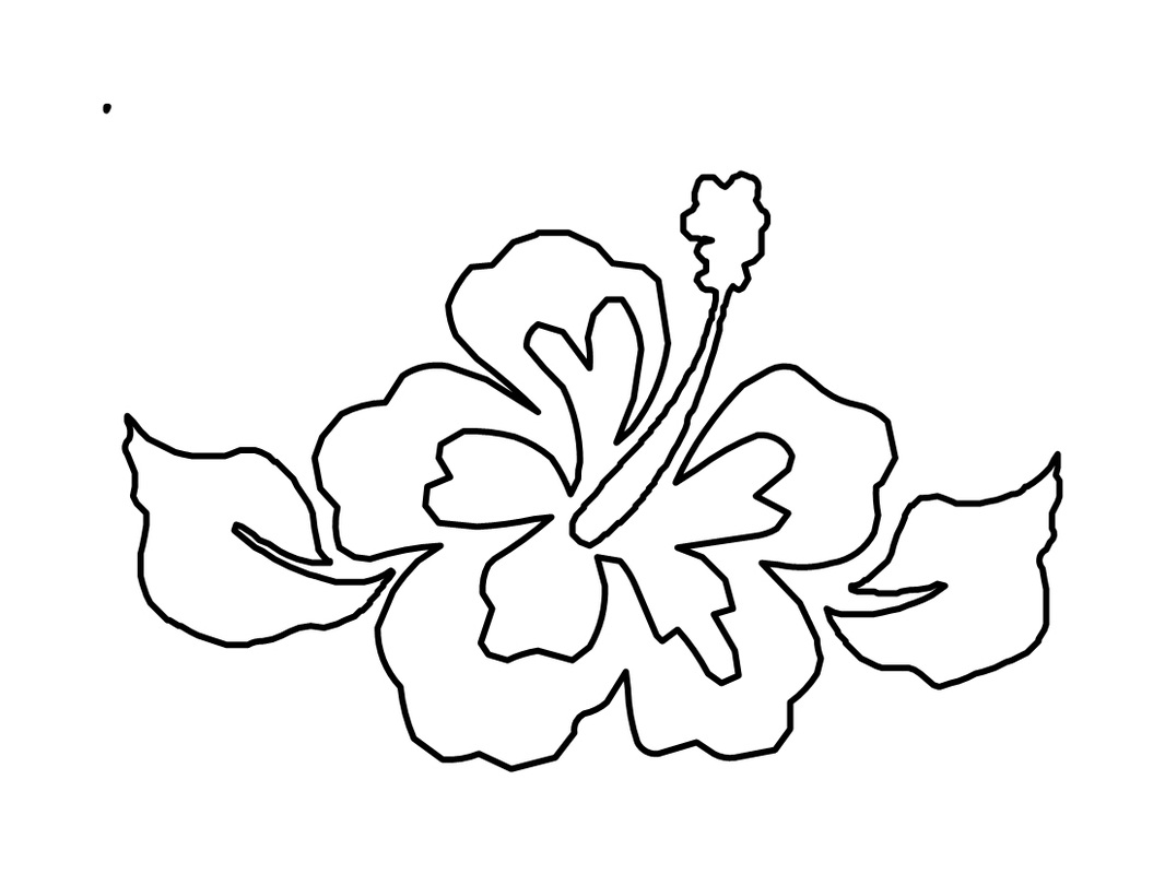 colouring pages hibiscus flower free printable hibiscus coloring pages for kids pages flower colouring hibiscus
