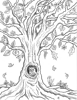 colouring pages of autumn trees maple autumn leaf outline coloring page kids play color of autumn pages trees colouring