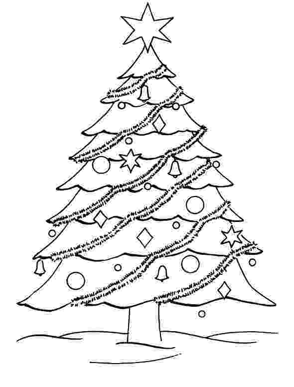 colouring pages of christmas tree printable christmas tree coloring pages for kids cool2bkids colouring of christmas pages tree