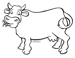colouring pages of cow cow coloring pages coloring pages to print colouring pages cow of