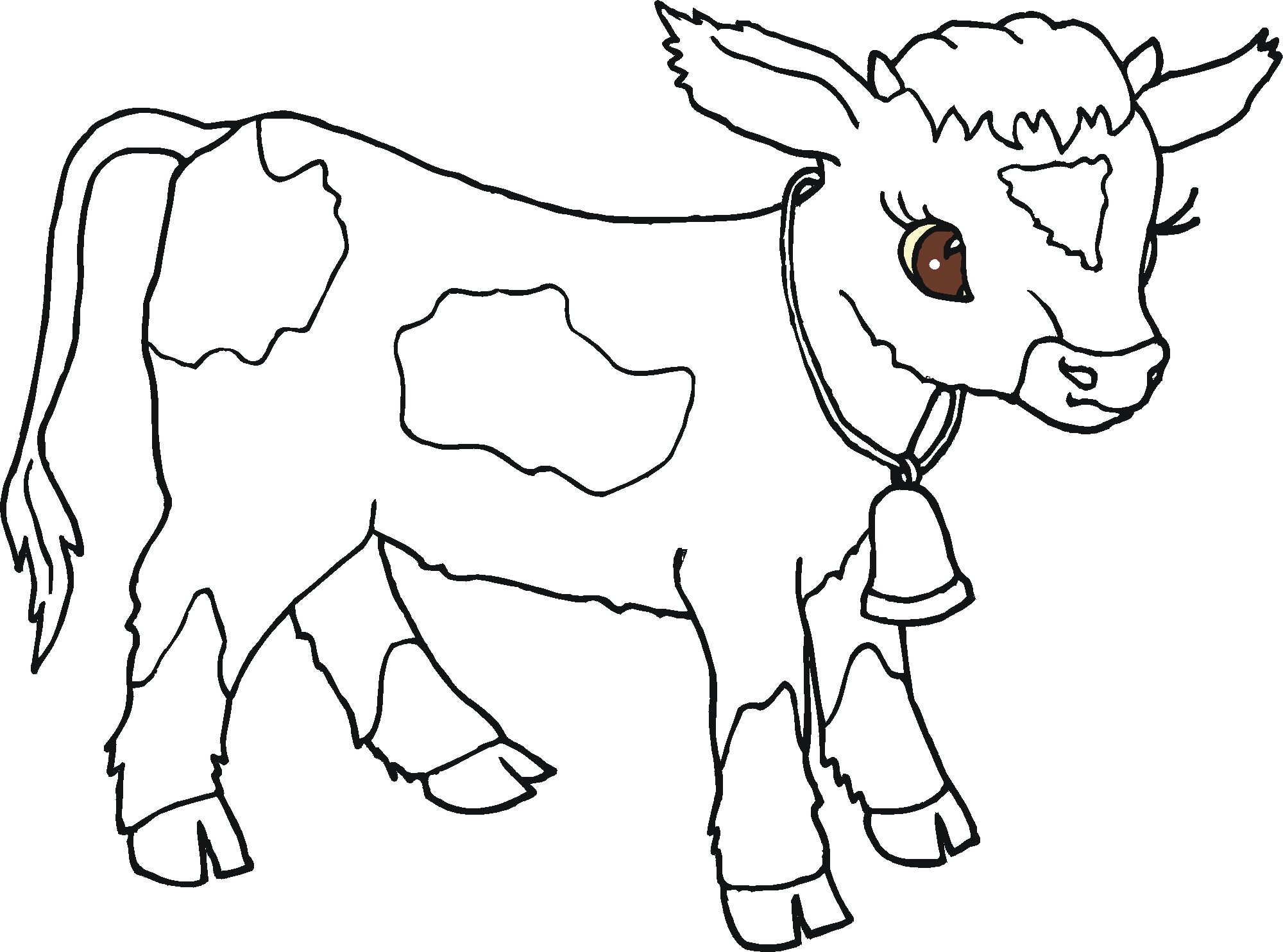 colouring pages of cow dulemba coloring page tuesday moo cow of colouring cow pages