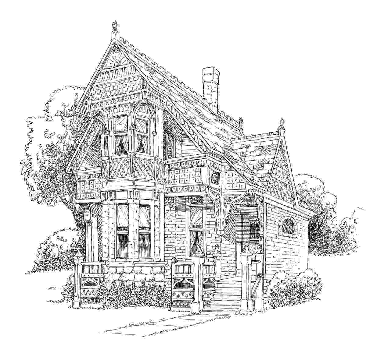 colouring pages of house 9 house coloring pages jpg ai illustrator download colouring house of pages