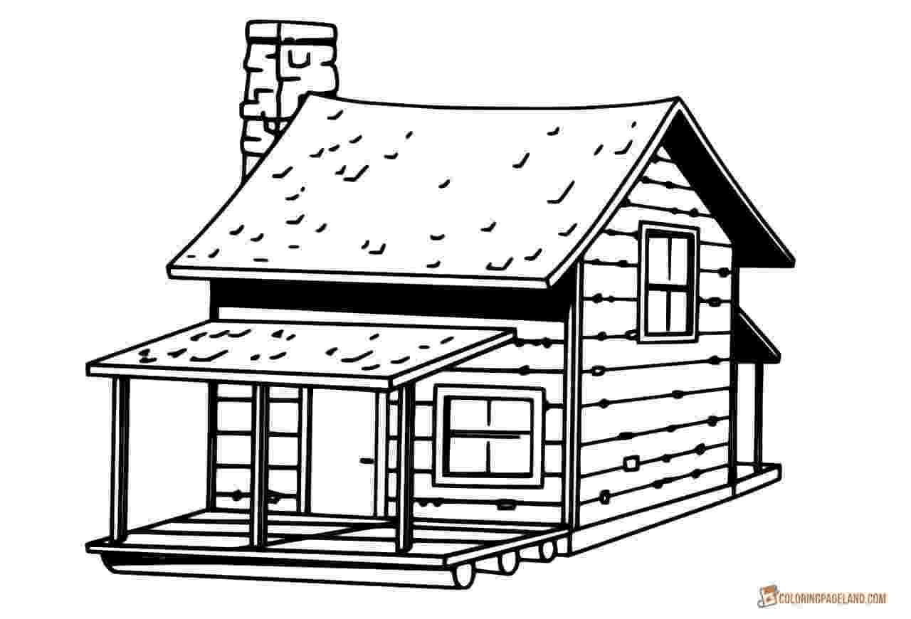 colouring pages of house haunted house printables of house pages colouring