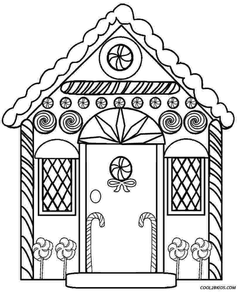 colouring pages of house printable haunted house coloring pages for kids cool2bkids colouring house pages of