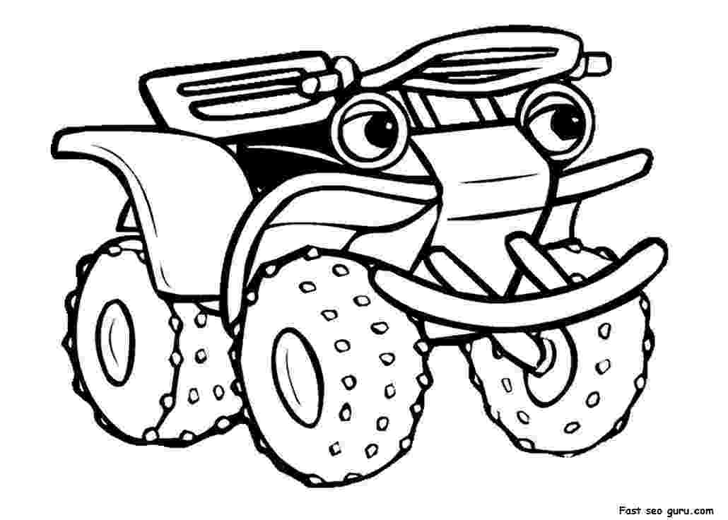 colouring pages quad bikes atv drawing at getdrawingscom free for personal use atv quad bikes colouring pages