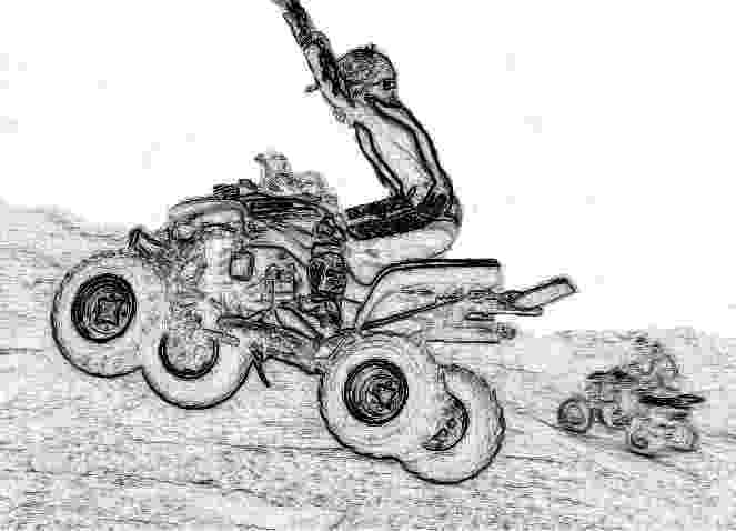 colouring pages quad bikes disegni da colorare disegni da colorare fuoristrada pages colouring bikes quad