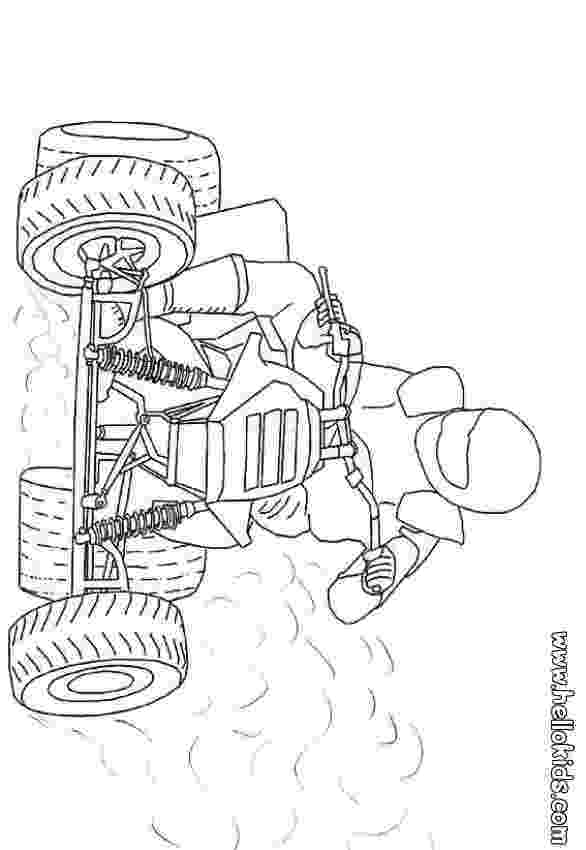 colouring pages quad bikes four wheelers drawing at getdrawingscom free for pages colouring quad bikes