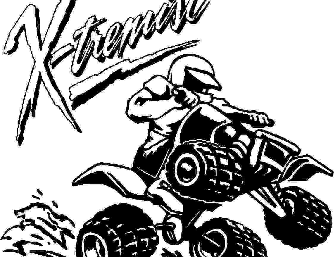 colouring pages quad bikes four wheelers drawing at getdrawingscom free for quad pages colouring bikes