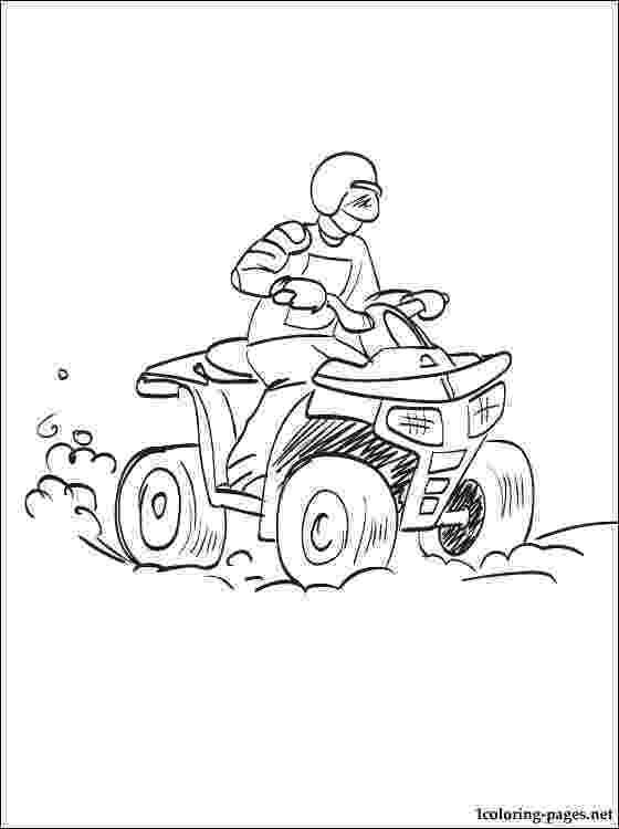 colouring pages quad bikes kids atv coloring pages colouring bikes quad pages