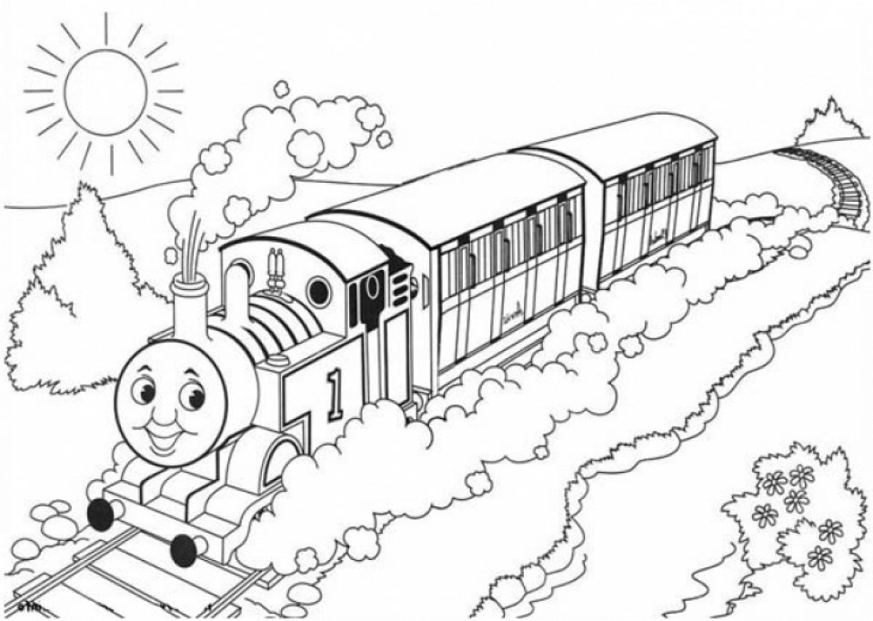 colouring pages thomas thomas the train drawing at getdrawingscom free for colouring pages thomas