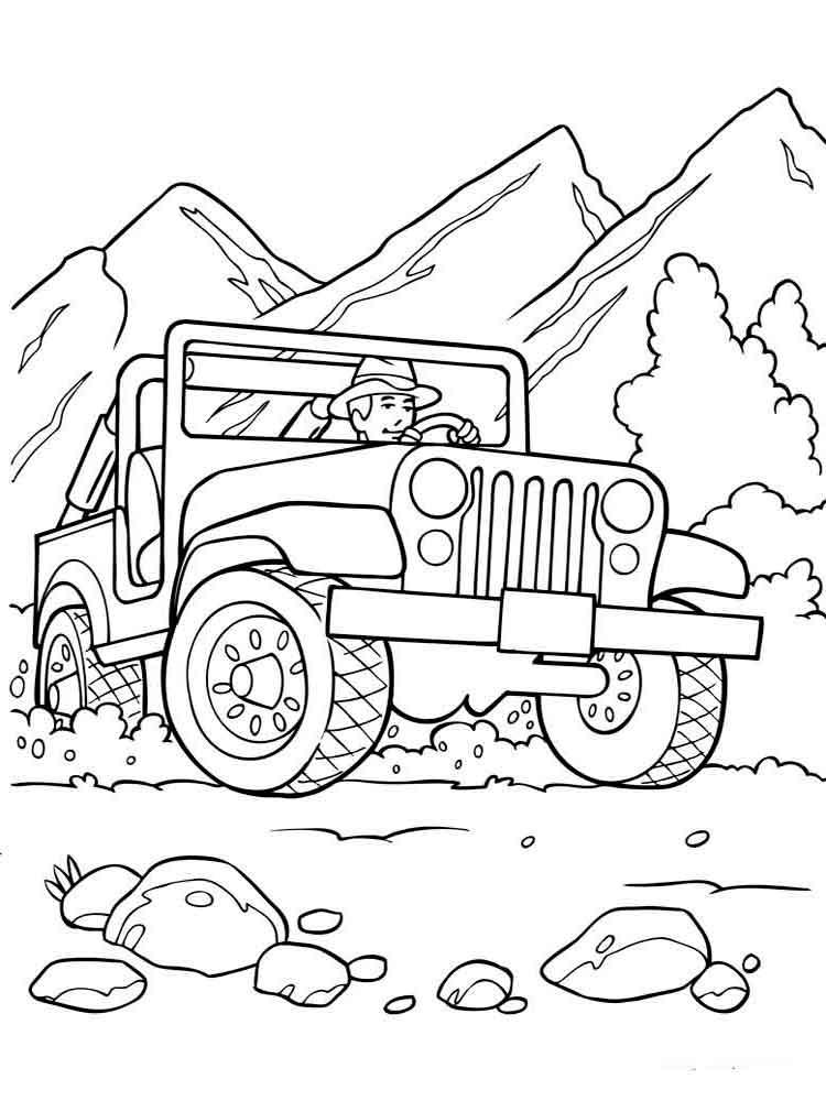 colouring pages to print off free printable off road vehicle coloring pages for kids print to pages off colouring