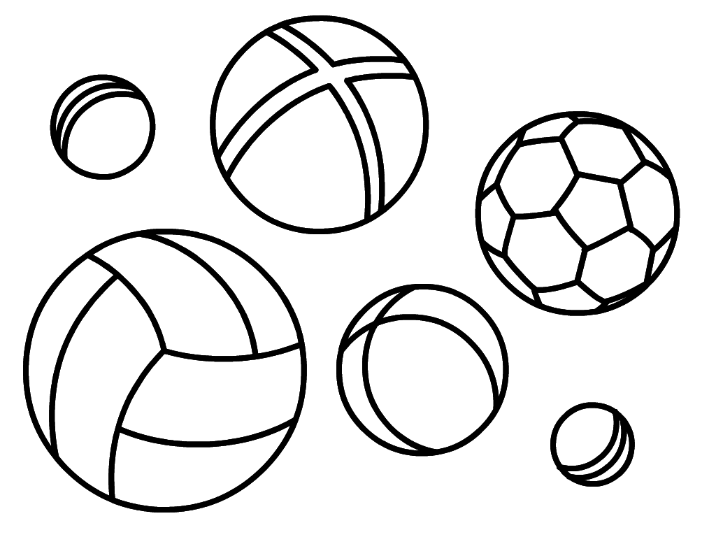 colouring picture of a ball ball coloring pages for kids to print for free of a picture ball colouring