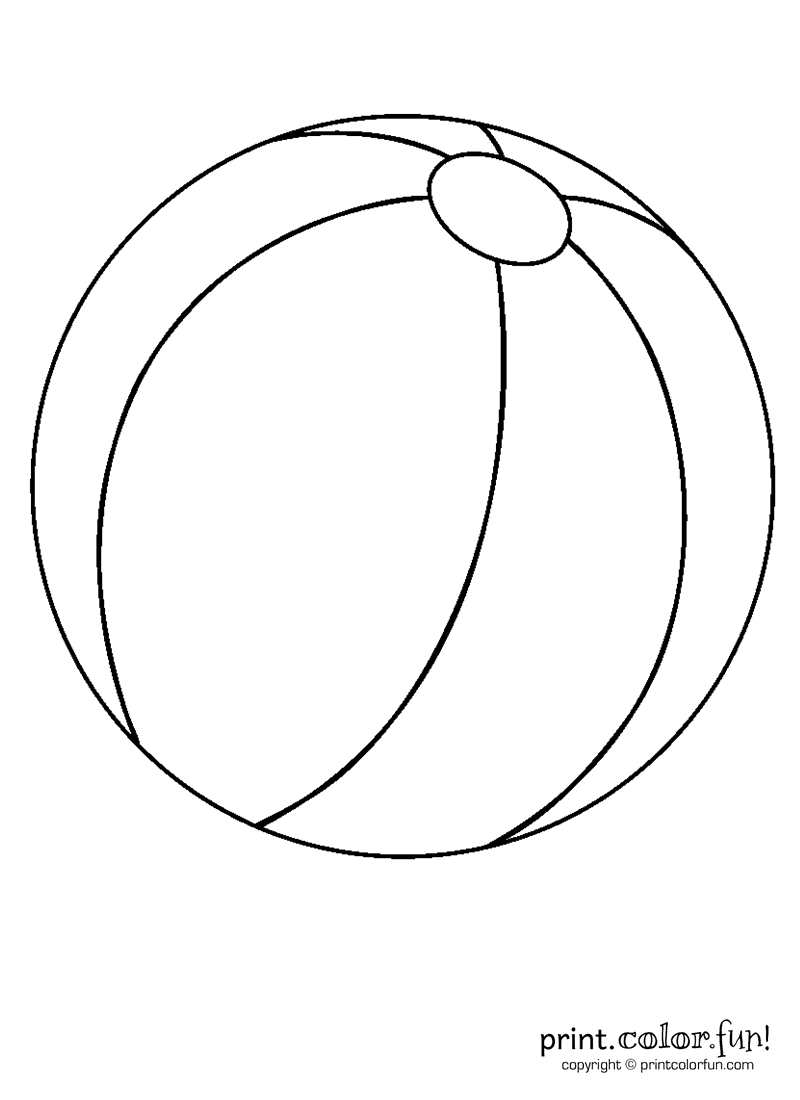 colouring picture of a ball beach ball coloring page toys a of colouring ball picture