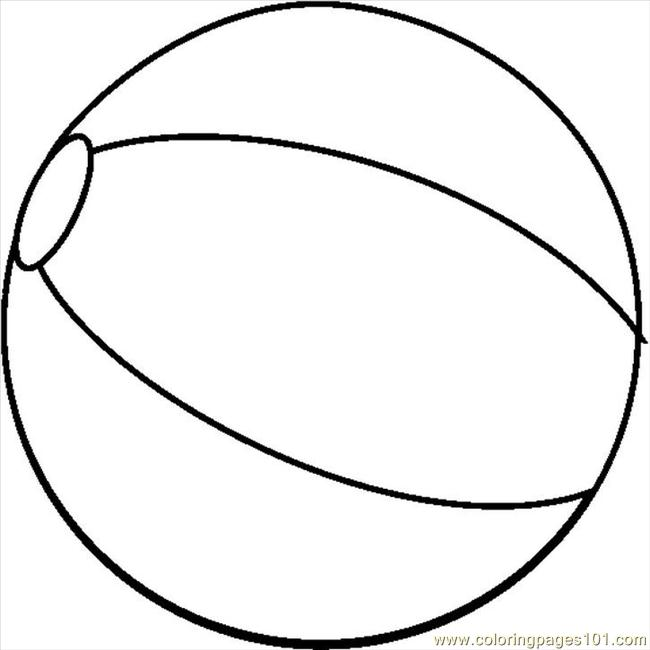 colouring picture of a ball black and white beach ball clipart best picture a of colouring ball