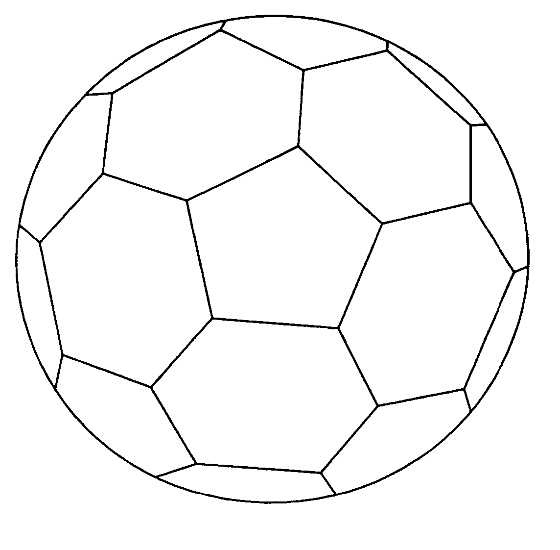 colouring picture of a ball soccer ball coloring page soccer ball soccer football a ball of picture colouring