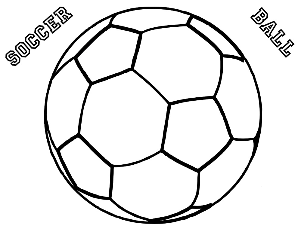 colouring picture of a ball soccer worksheets for kids free activity shelter ball a picture of colouring
