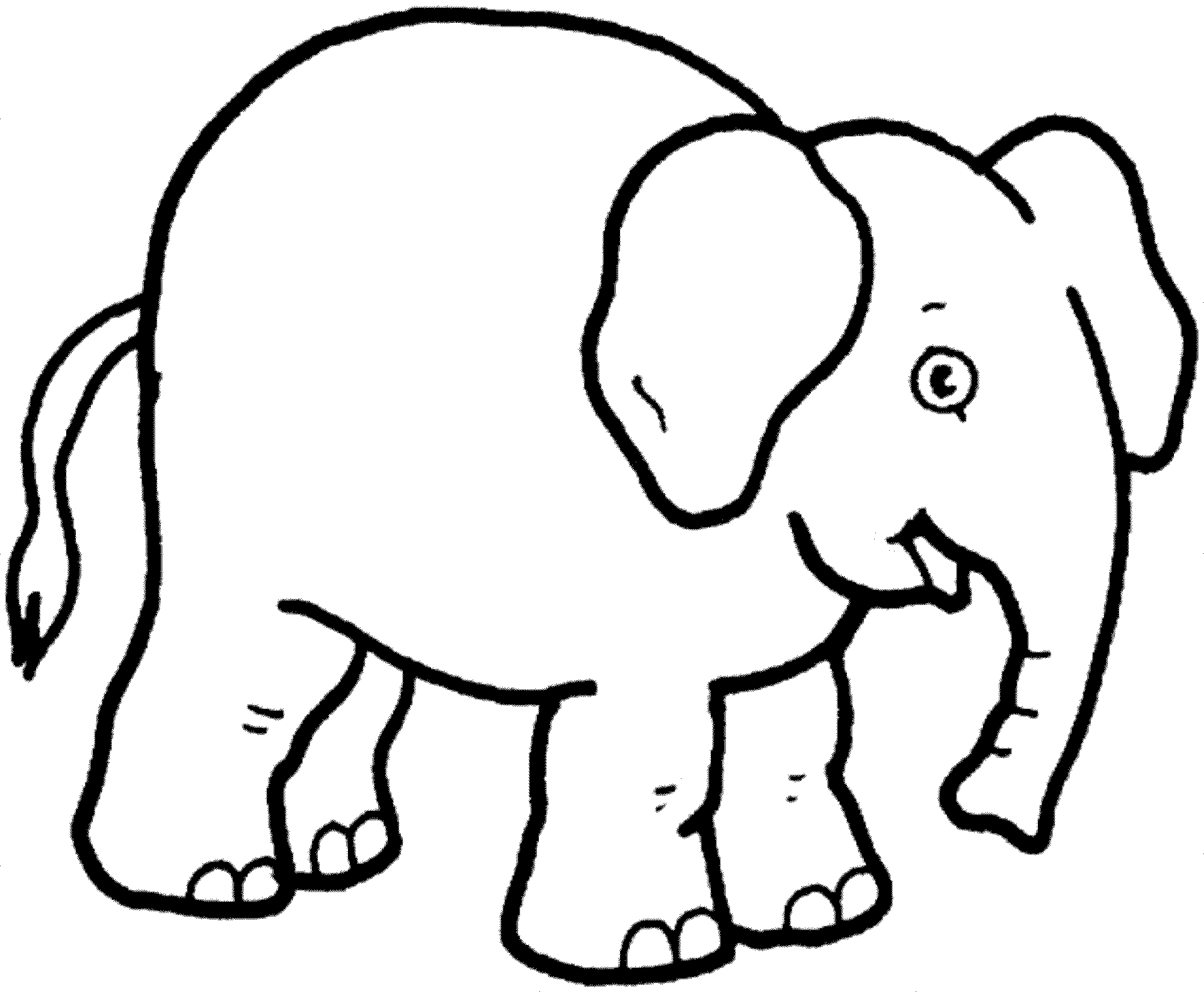 colouring picture of an elephant cute baby elephant coloring pages part 3 an elephant of picture colouring