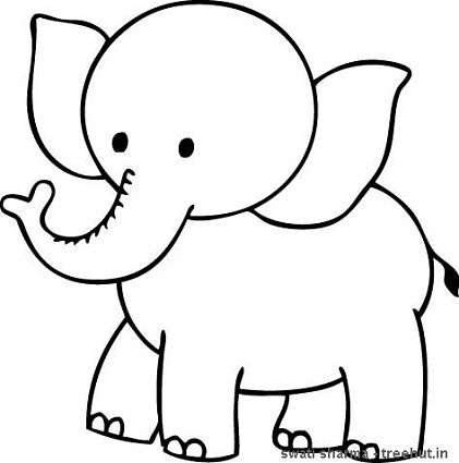 colouring picture of an elephant transmissionpress baby elephant coloring pages colouring elephant picture of an