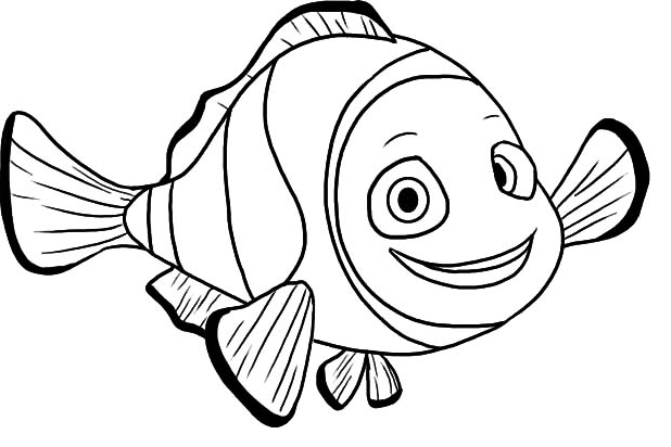 colouring picture of fish clown fish coloring page coloring page book for kids picture of colouring fish