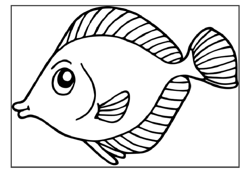 colouring picture of fish fish colouring pages for preschool preschool crafts of picture colouring fish