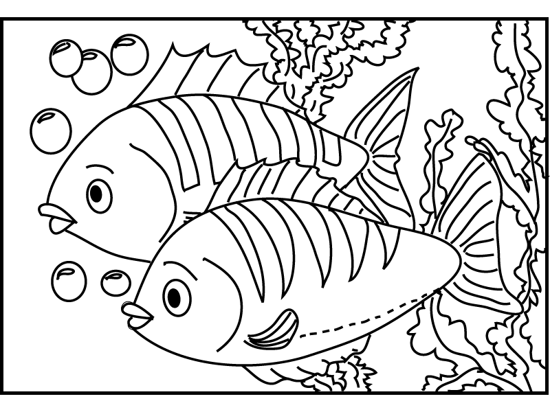 colouring picture of fish free printable fish coloring pages for kids cool2bkids fish picture colouring of