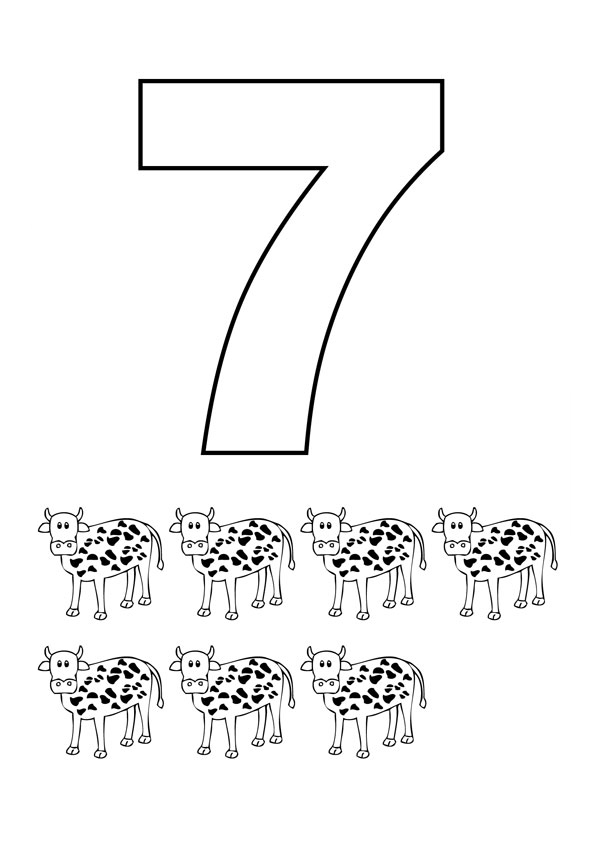 colouring picture of number 7 number 7 coloring page colouring of number 7 picture