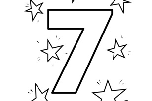 colouring picture of number 7 number 7 pages printable coloring pages number 7 of colouring picture