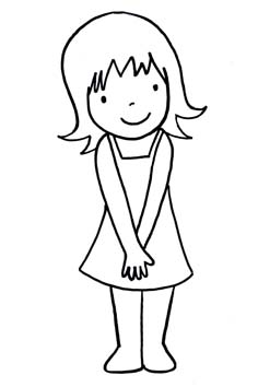 colouring pictures girls 20 teenagers coloring pages pdf png free premium girls pictures colouring
