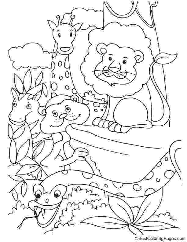 colouring pictures of extinct animals endangered animals coloring page download free animals pictures colouring extinct of