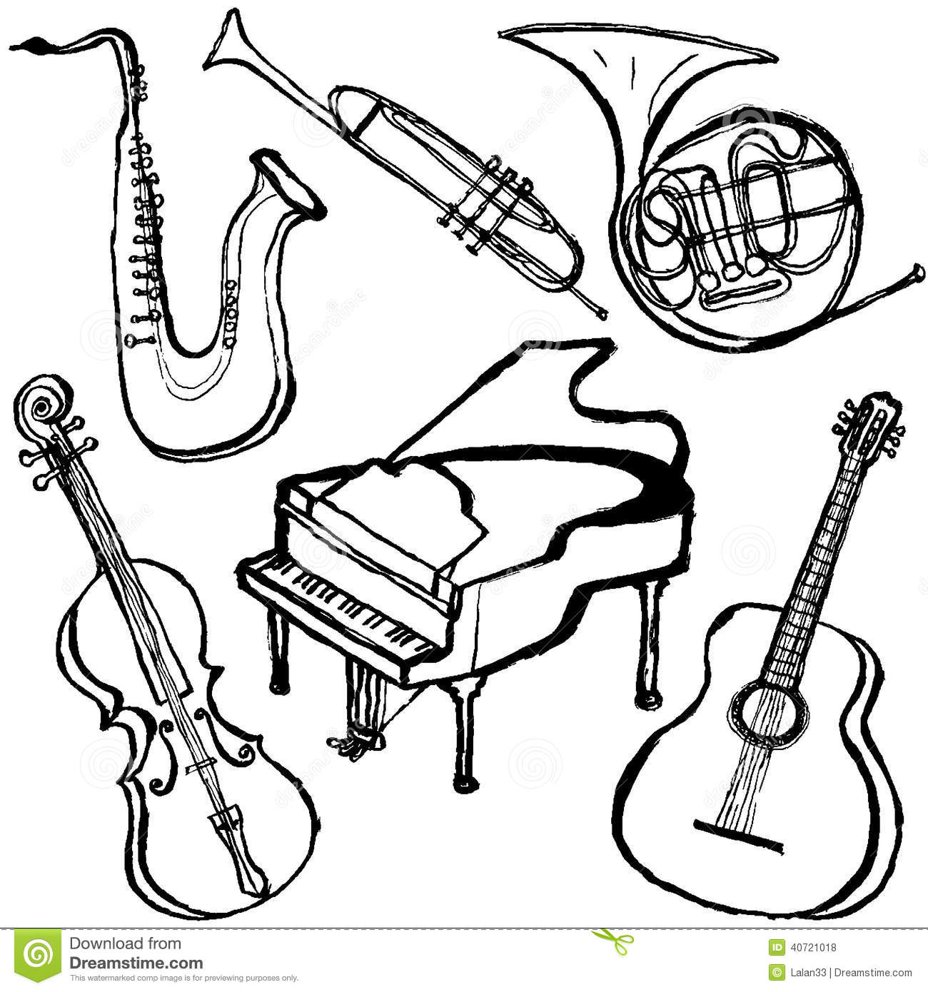 colouring pictures of musical instruments form 1 ocs 2016 2017 sound and timbre the orchestra of pictures instruments colouring musical