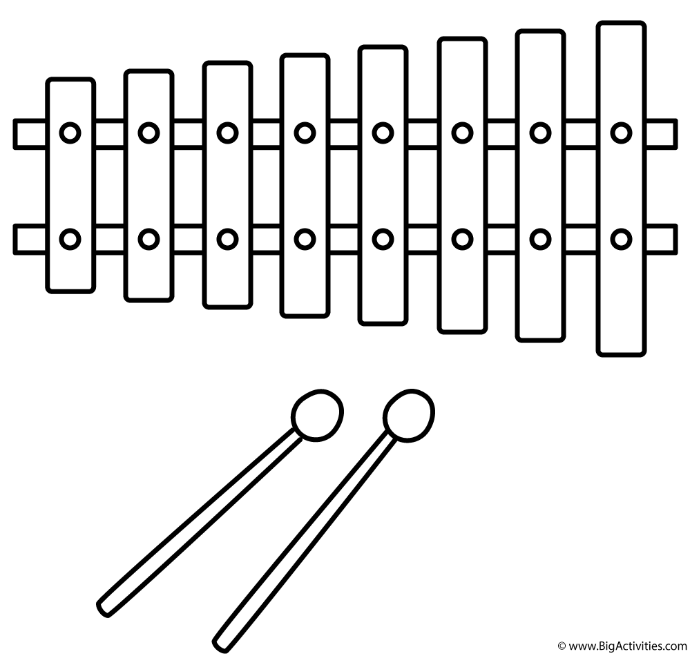 colouring pictures of musical instruments music instrument coloring page getcoloringpagescom colouring instruments musical of pictures