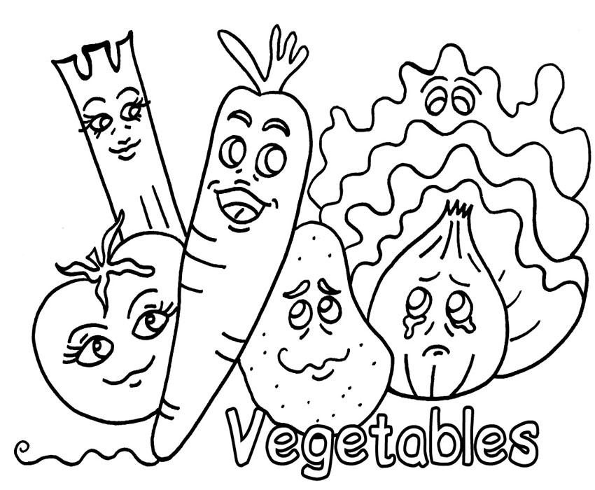 colouring pictures of vegetables free coloring pages of vegetable gardens colouring of pictures vegetables